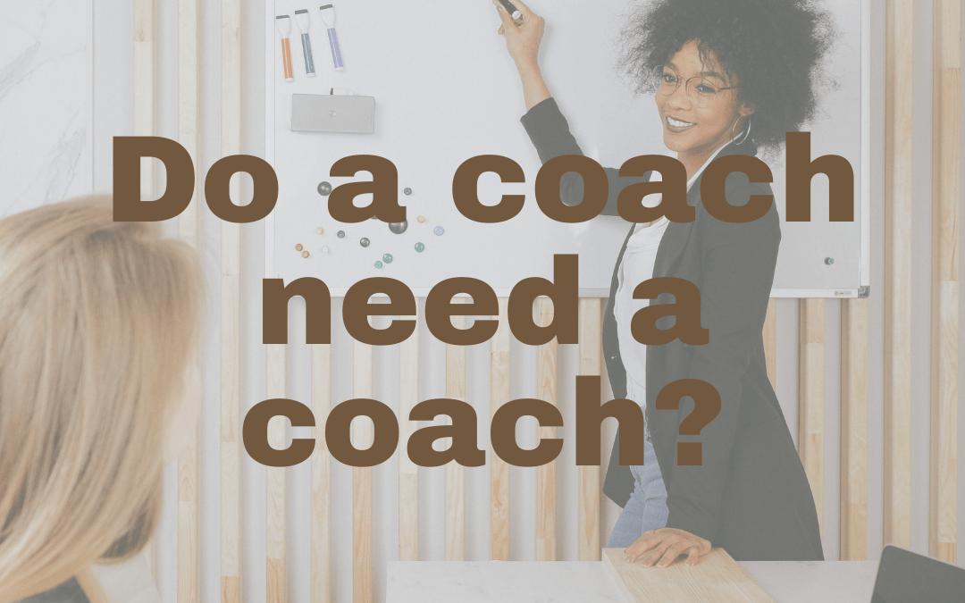 When Do Coaches Need Coaches?